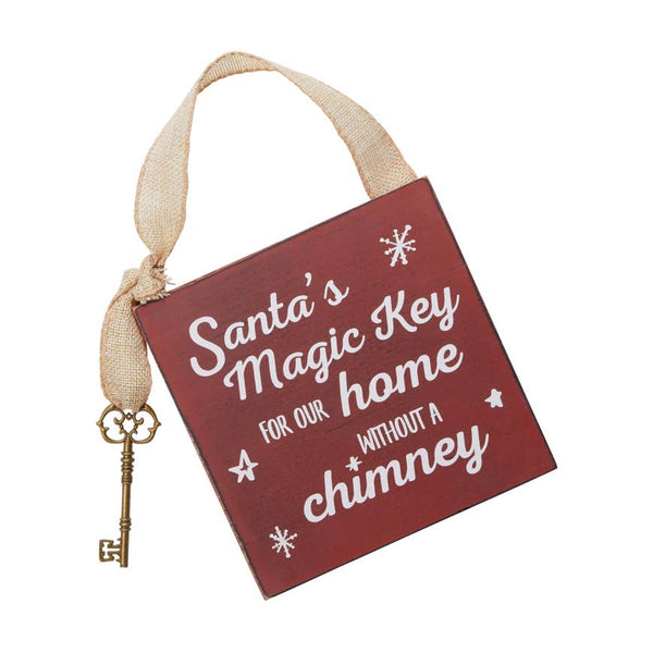 Santa's Magic Key | Door Hanger