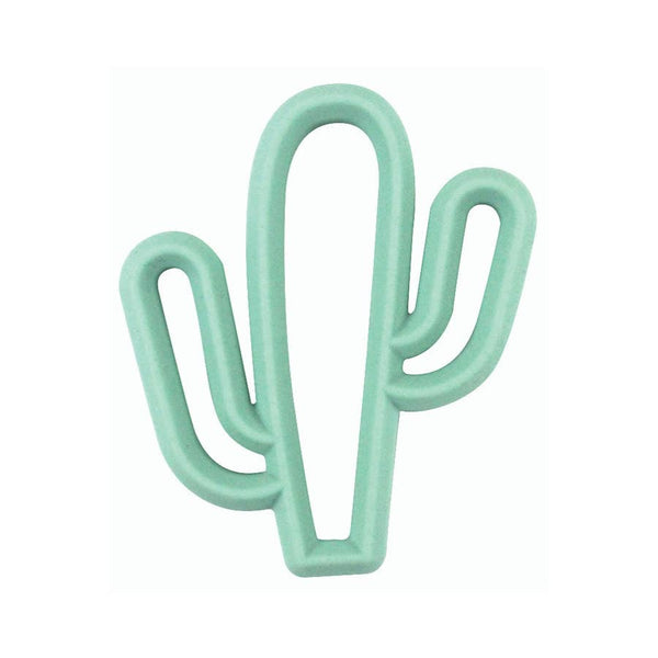 Baby Teether | Cactus - Baby Teethers  - Poshinate Kiddos Baby & Kids Store - mint front