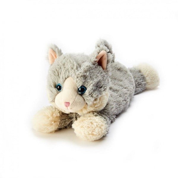 Heatable Stuffed Animal | Cat Laying Down