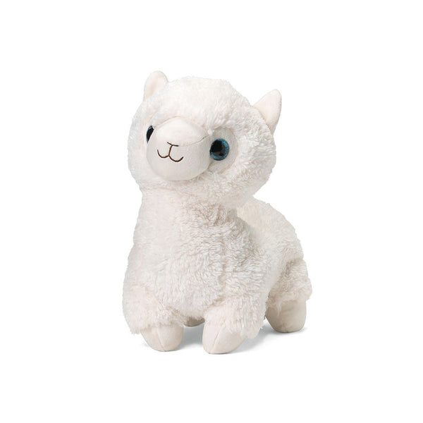 Heatable Stuffed Animal | White Llama - Heatable Plush Toys - Poshinate Kiddos Baby & Kids Store - standing llama
