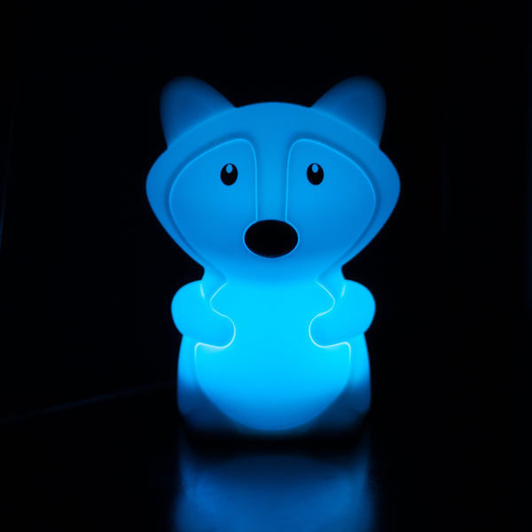 Kids Night Light | Fox - Kids Toys - Poshinate Kiddos Baby & Kids Boutique - Blue light