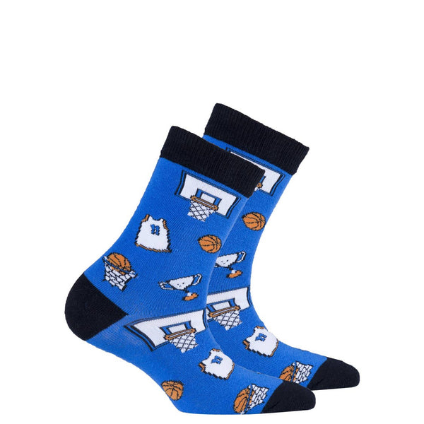 Kids Socks | Sports - Kids Socks - Poshinate kiddos Baby & Kids Store -  shows basketball