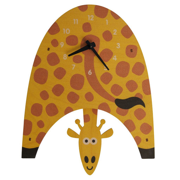 Pendulum Clock | Giraffe -Pendulum Clocks - Poshinate Kiddos