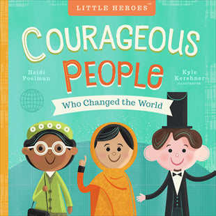 Kids Book | Courageous People Who Changed the World - Books and Activities - Poshinate Kiddos Baby & Kids Boutique - awesome gift book for kiddos