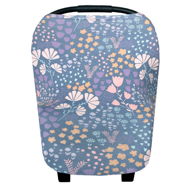 Multi Use 5 in 1 Baby Cover | Floral Mix -Accessories -Poshinate Kiddos Baby & Kids Boutique -carseat cover