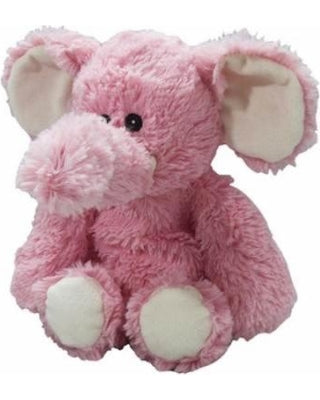 Heatable Stuffed Animal | Elephant | Pink | Heatable Plush Toys | Poshinate Kiddos Baby & Kids Store