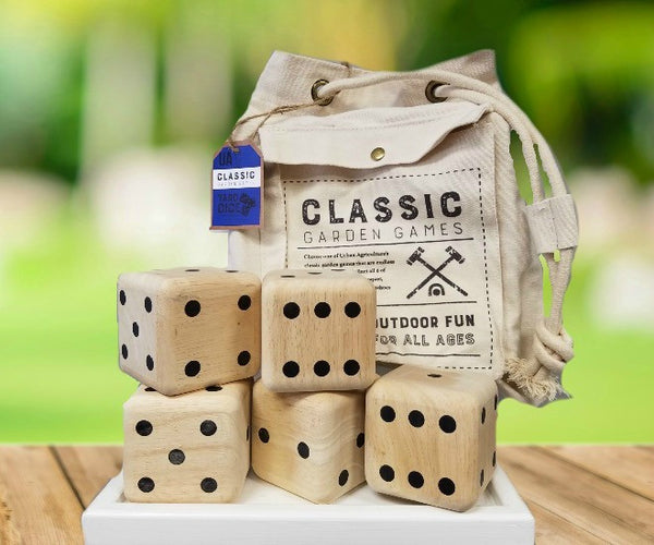 Yard Dice Outdoor | Wooden - Outdoor Gear - Poshinate Kiddos