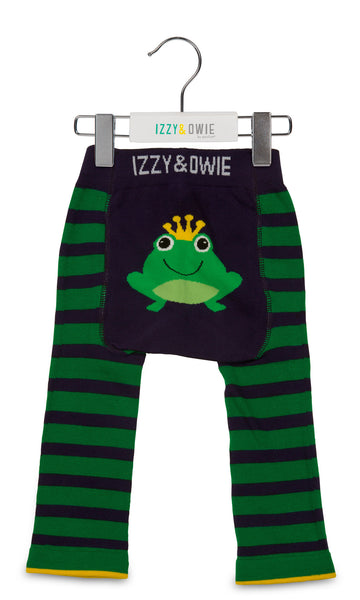 Baby Leggings | Froggie Navy/Green