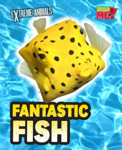 Kids Book | Fantastic Fish Extreme Animals - Kids Books & Activities - Poshinate Kiddos Baby & Kids Store