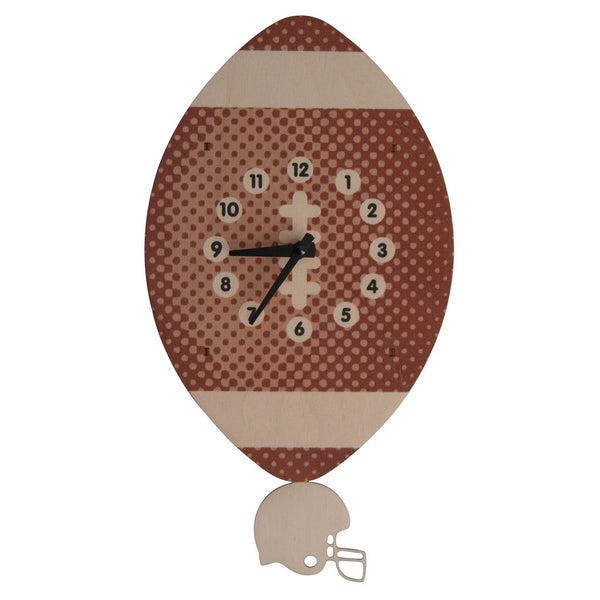Pendulum Clock | Football-Pendulum Clocks-Poshinate Kiddos Baby & Kids Store