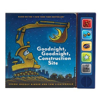 Goodnight, Goodnight Construction Site | Sound Book - Books and Activities - Poshinate Kiddos
