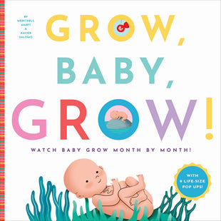 Kids Book | Grow Baby Grow! - Books and Activities - Poshinate Kiddos Baby & Kids Store