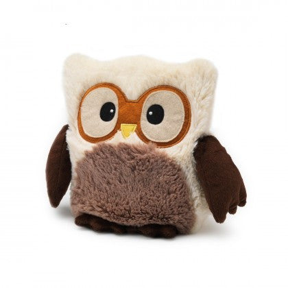 Heatable Stuffed Animal | Hootie Owl | Cream