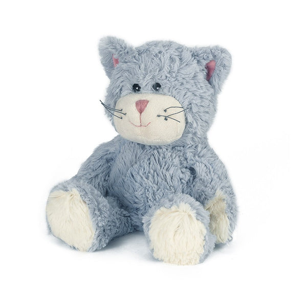 Heatable Stuffed Animal | Cat - Heatable Plush Toys - - Poshinate Kiddos