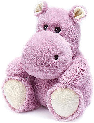 Heatable Stuffed Animal | Hippo - Heatable Plush Toys -  - Poshinate Kiddos