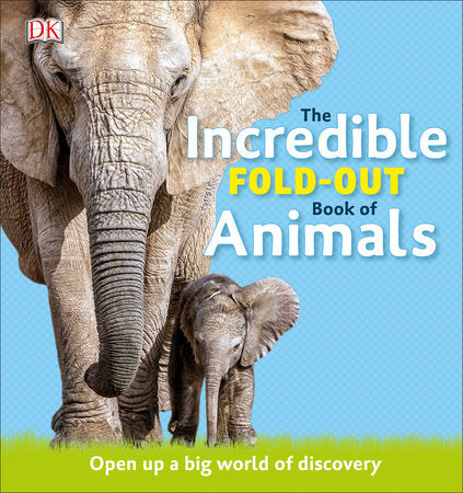 Kids Book | The Incredible Fold-Out Book Of Animals - Kids Books - Poshinate Kiddos Baby & Kids Boutique - No Background