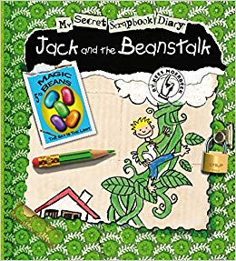 Kids Book | My Secret Scrapbook Diary | Jack and the Beanstalk - Books & Activities - Poshinate Kiddos Baby & Kids Products - unique scrapbook story