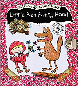 Kids Book | My Secret Scrapbook Diary | Little Red Riding Hood - Books & Activities - Poshinate Kiddos Baby & Kids Boutique - creative scrapbook read