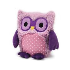 Heatable Stuffed Animal | Hootie Owl | Purple
