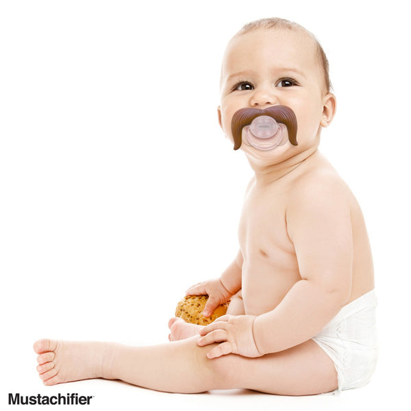Mustache Pacifier | The Cowboy - Pacifier - Poshinate Kiddos