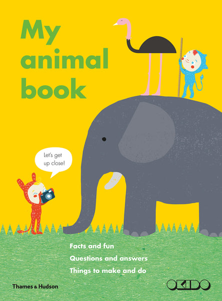 Kids Book | My Animal Book - Books and Activities - Poshinate Kiddos Baby & Kids Products - things to make and do book
