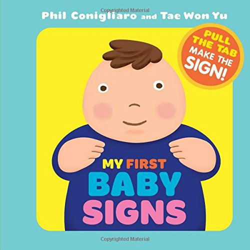 Kids Book | My First Baby Signs | Sign Language - Baby Books & Activities - Poshinate Kiddos Baby & Kids Store