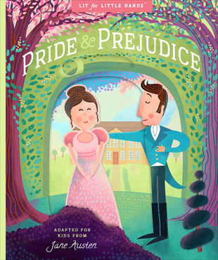 Kids Book | Pride and Prejudice | Poshinate Kiddos Baby and Kids Boutique | Cover of book