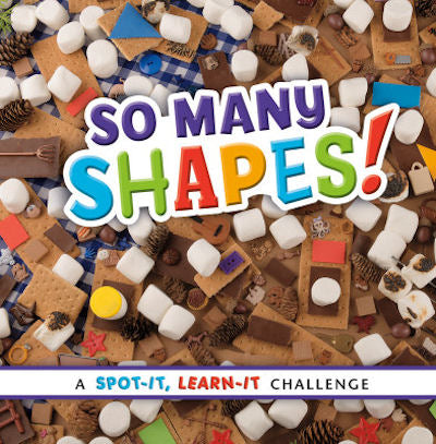 Kids Book | So Many Shapes | A Spot-It Learn-It Challenge