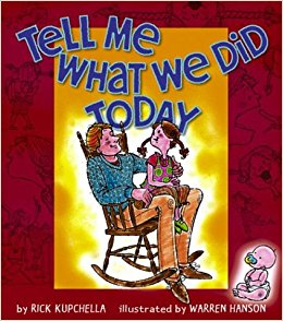 Kids Book | Tell Me What We Did Today - Kids Books & Activities - Poshinate Kiddos Baby & Kids Store