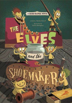 Kids Books | The Elves & The Shoemaker | Fairy Tales - Kids Books & Activities - Poshinate Kiddos Baby & Kids Products - No Background