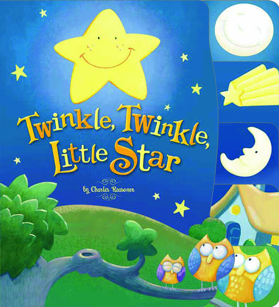 Kids Book | Twinkle Twinkle Little Star | Nursery Rhymes - Books & Activities - Poshinate Kiddos Baby & Kids Boutique