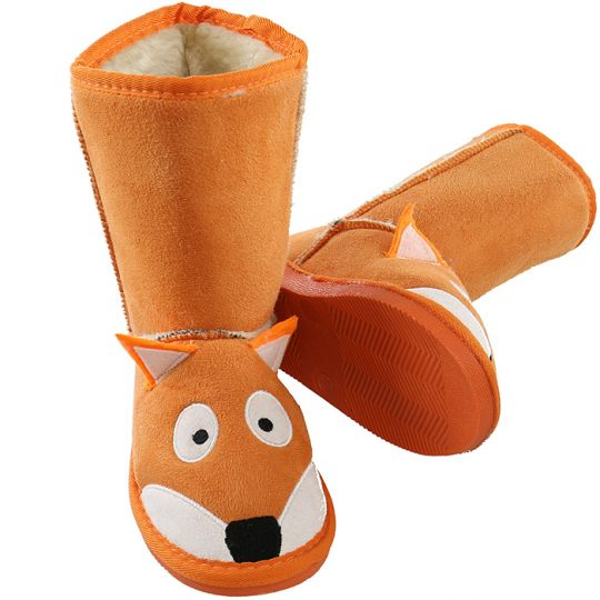 Kids Slippers / Boots | Fox | Orange