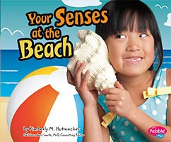 Kids Book | Your Senses At The Beach | Use Your Senses - Kids Books & Activities - Poshinate Kiddos Baby & Kids Boutique - No Background
