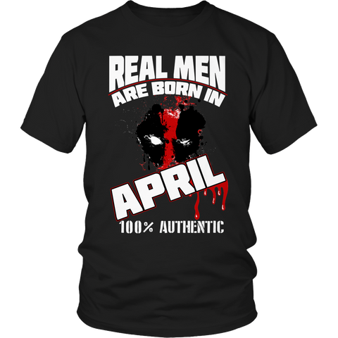 Real Men Are Born In April LIMITED EDITION - The Nerd Cave - 1