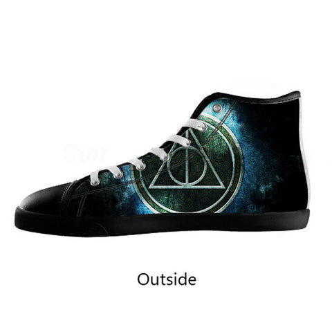 Deathly Hallows Shoes for Men - The Nerd Cave - 1