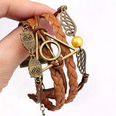 Deathly Hallows Bracelet - The Nerd Cave - 1