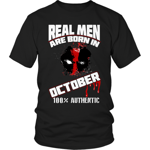 Real Men Are Born In October LIMITED EDITION - The Nerd Cave - 1