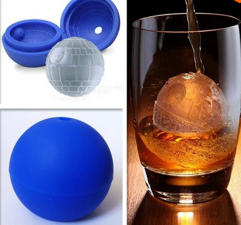 Death Star Ice Cube Mold - The Nerd Cave