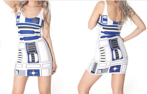 R2-D2 Sexy Sundress - The Nerd Cave - 1