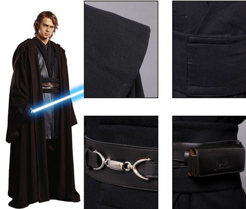 Anakin Skywalker Cosplay Costume - The Nerd Cave - 1