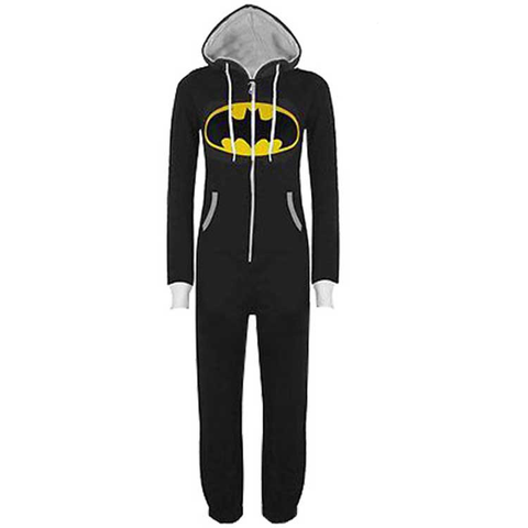 Unisex B-Man Zipped Onepeice - The Nerd Cave - 1