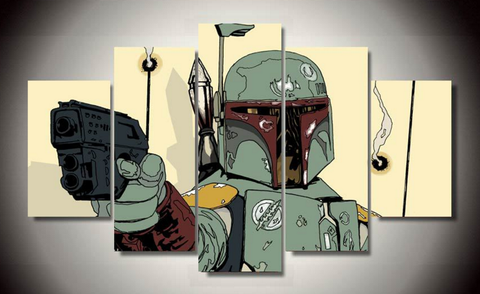 Bounty Hunter 5 Piece Canvas LIMITED EDITION