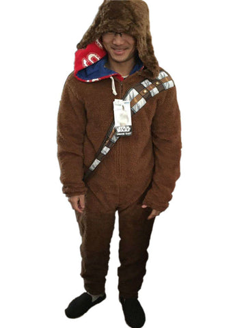 Unisex Chewbacca Zipped Onepeice - The Nerd Cave