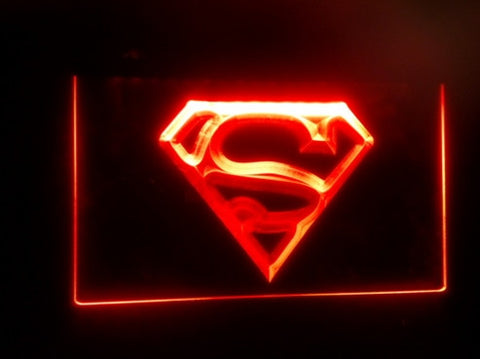 Superman LED Sign - The Nerd Cave - 1