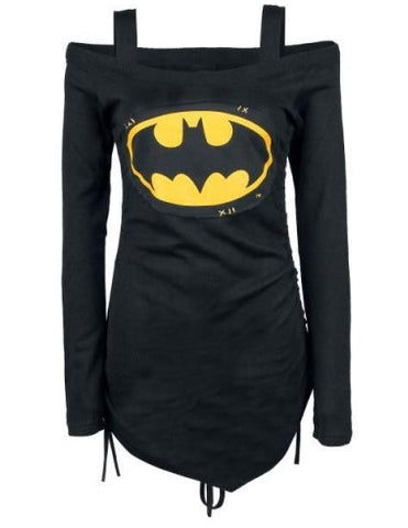 B-man Long Sleeve Women Top - The Nerd Cave - 2