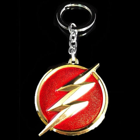 Flash Sign Keychain - The Nerd Cave - 1