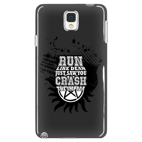 Run Like Dean Phone Case LIMITED EDITION - The Nerd Cave - 1