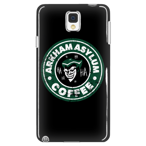 Arkham Asylum Coffee Phone Case LIMITED EDITION - The Nerd Cave - 1