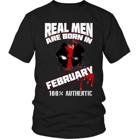Real Men Are Born In February LIMITED EDITION - The Nerd Cave - 1