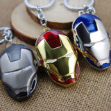 Iron Mask Keychain - The Nerd Cave - 1